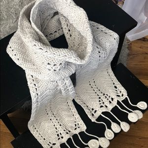 J. Crew Hand Knitted Scarf
